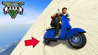 GTA V Online: O DRIFT DE MOTO (CORRIDA 100% INCLINADA)