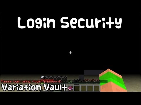 Minecraft Bukkit Plugin - Login security - make players set extra passwords [Security plugin]