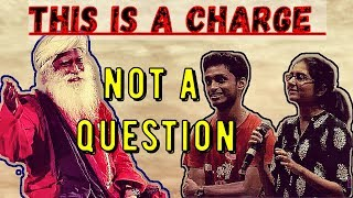 Sadhguru Shuts up Rude and arrogant Nalsar Students..