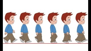 Flash Animation Tutorial - Character Walk Cycle Part-1
