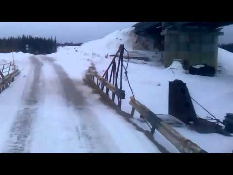 Дорога Усинск-печора