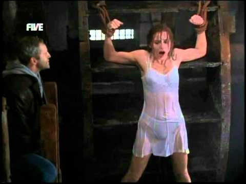 Restrained female Alyssa Lynn endures tits torture and and being hung № 1218957 бесплатно