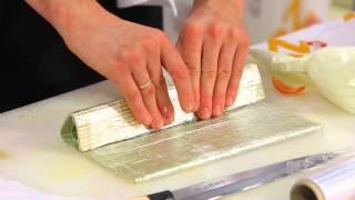 Мастер-класс по приготовлению суши. Ролл в рисовой бумаге с креветками
