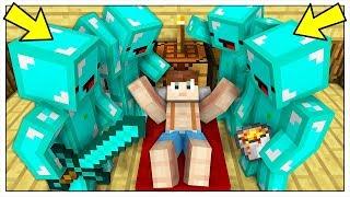 LUCA È STATO RAPITO DAI PRO DI DIAMANTE! - Minecraft ITA