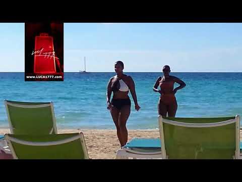 Big Booty Ladies dancing in Jamaica on the Beach_Magarita Ville 7 Mile Beach Negril thumbnail
