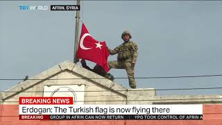 Turkey and FSA mark joint victory in Syria's Afrin