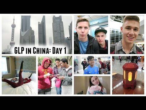 China Day 1: Bye LA, lanterns in Korea, the Maglev, Shanghai World Financial Center, hotel room tour