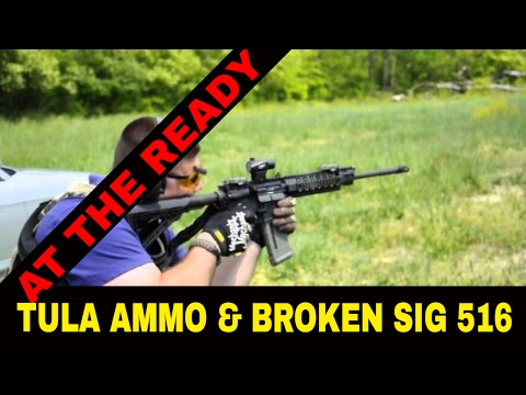 AR-15 RAPID FIRE!! + TULA AMMO TEST