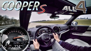 Mini Countryman 2017 Cooper S ALL4 TOP SPEED & ACCELERATION Autobahn Drive by AutoTopNL