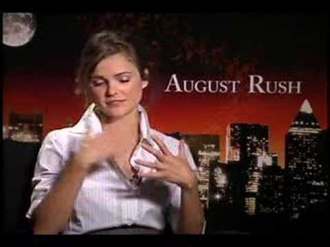 Keri Russell August Rush Interview video
