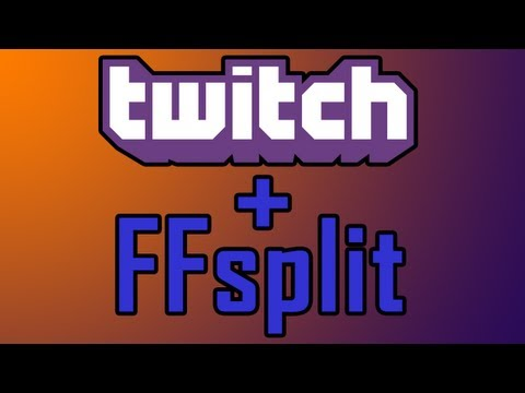 How To: Stream to Twitch TV with FFsplit and AmaRecTV (Including Skype Call)
