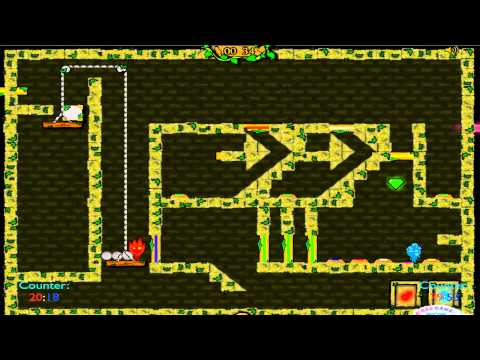 Let's Play Fireboy and Watergirl: The Forest Temple III #003 - The Forest Temple III -.-