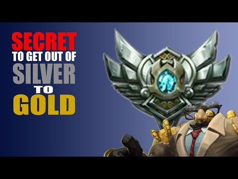 SECRET on How to get out of SILVER to GOLD