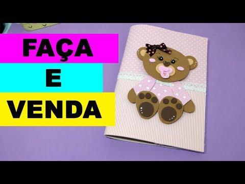 Capa Caderneta de Vacinação em EVA -  Faça e Venda -  Artesanato EVA - Goma EVA thumbnail