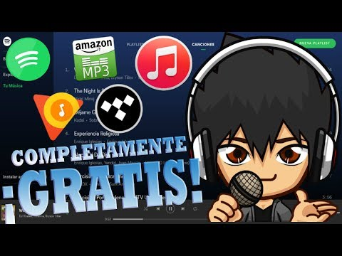 Descarga musica de Spotify, Apple Music, TIDAL, Etc. Completamente ¡GRATIS! - By Goch