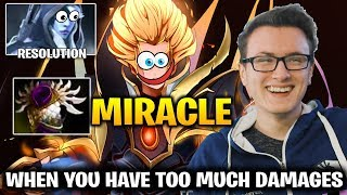 Miracle Invoker + Resolut1on: This is What Happens When you Have Too MUch Damages