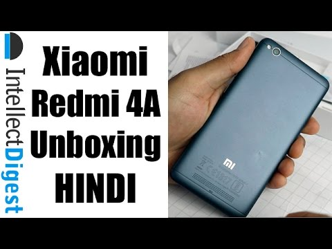 Redmi 4A Unboxing Hindi Video | Intellect Digest