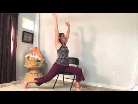 Gentle Yoga in The Chair Gentle Chair Yoga Practice
