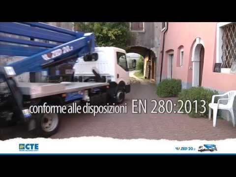 Articulated truck-mounted ZED 20.2 EASY