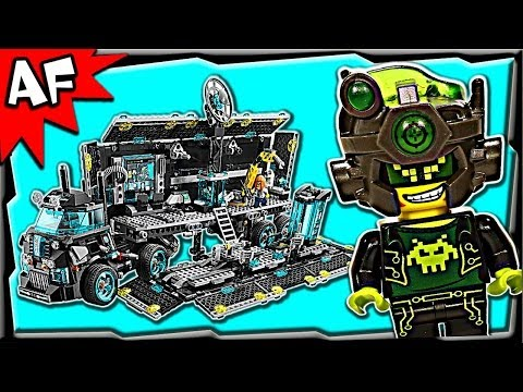 Lego Ultra Agents MISSION HQ 70165 Stop Motion Set Review