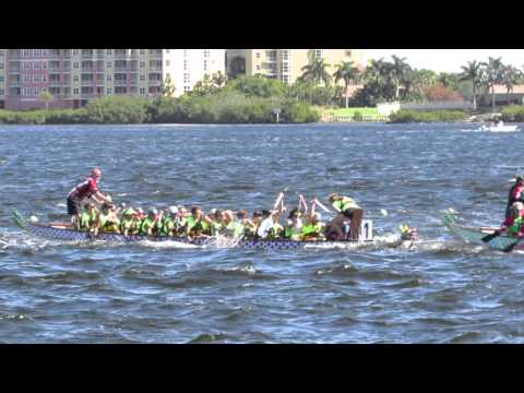 AMI Dragon Boat Bradenton 4 10 16 race 2