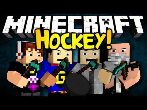 Minecraft: Mini Game: Hockey!
