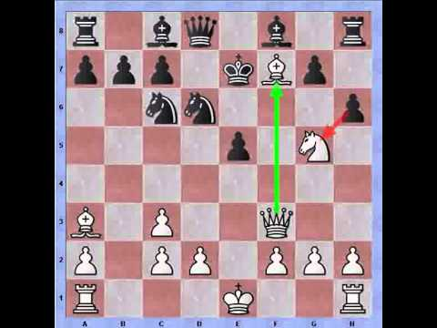 Bastiaan facing the Berlin defense (Ruy Lopez): Contempt in chess, the F7 square