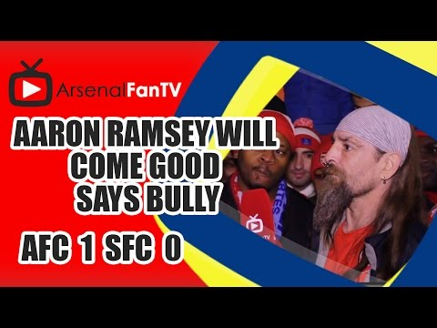Aaron Ramsey Will Come Good says Bully - Arsenal 1 Southampton 0