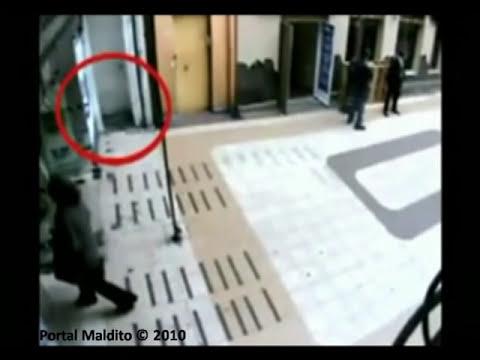 Fantasma Captado por camaras de seguridad en chile