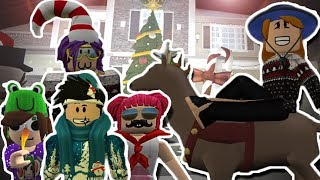 Bloxburg Mother of 4 Kids Christmas Special! WE WENT ON A VACATION! (Roblox Roleplay)