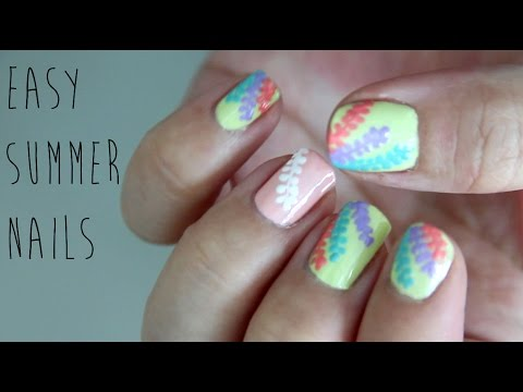 Easy Summer Nails