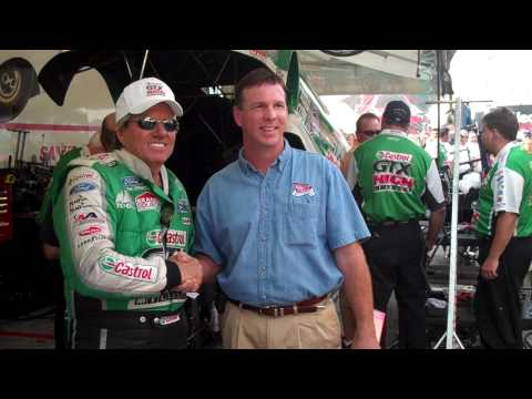 John Force Meets With President of Road Wrap Video