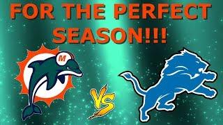 DEFENSIVE DOMINANCE!!!   Miami Dolphins ESPN NFL 2k5 Franchise Rebuild   Ep33 Super Bowl vs Lions