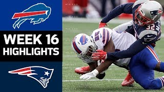 Bills vs. Patriots | NFL Week 16 Game Highlights