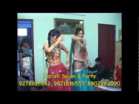 ladies sangeet by harish sajan & party