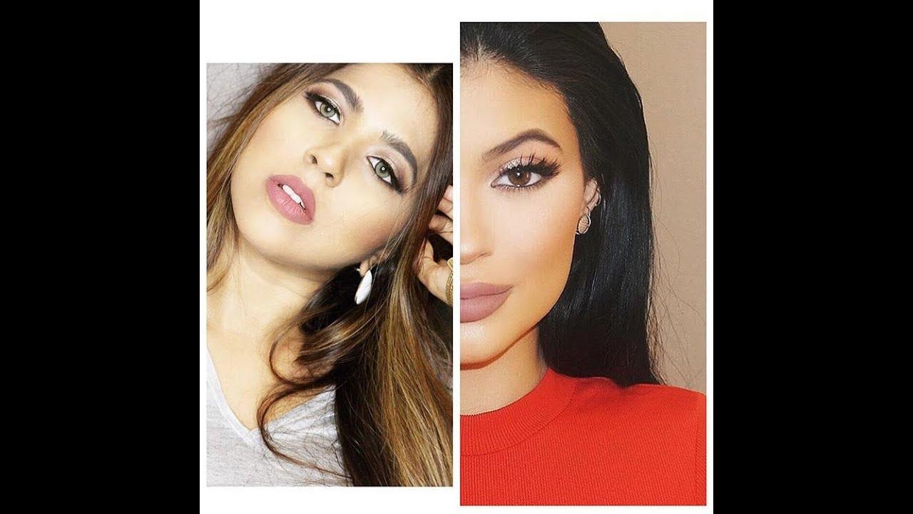 Kylie Jenner Red Dress Makeup