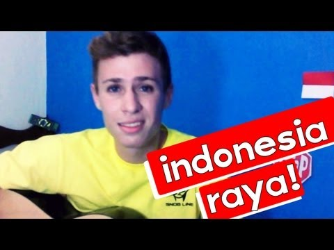 Indonesia Raya Brazilian Cover video