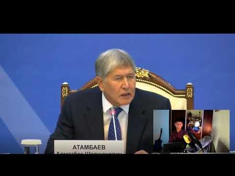 Атамбаев вновь высказался о Назарбаеве  не скупясь словами