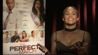 Paula Patton Talks Being Single and Defines Love! | The Perfect Match
