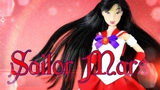 DIY - Custom Doll: Sailor Mars - Sailor Moon - Anime - Handmade - Doll - Crafts