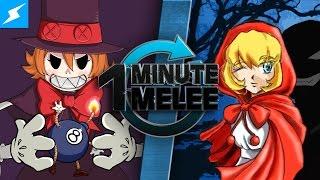 One Minute Melee - BB Hood Vs Peacock (Darkstalkers vs Skullgirls)