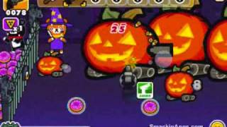 iPhone App_ Monster Mayhem Halloween Gameplay