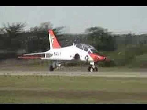2008 Jones Beach Airshow - T-45 Goshawk Departures