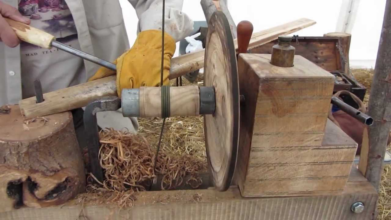 New Build Your Own Pole Lathe And Learn To Use It  Woodcraft