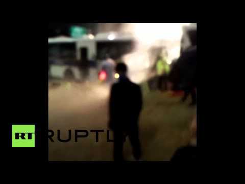 South Korea: Protesters get hosed as they ask independent investigation for Sewol