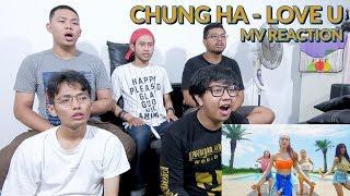 """""""SI RATU LENTUR BAGAI ULAR MELIUK-LIUK""""   CHUNG HA - LOVE U MV REACTION"""