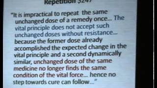 Effective Use of Homeopathy Repertory Part II by Dr Mansoor Ali