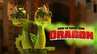 HOW TO TRAIN YOUR DRAGON STOP MOTION
