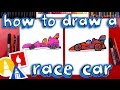 Lagu How To Draw A Race Car (For Young Artists)