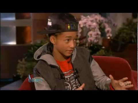 Jaden Smith- Ellen's Birthday's Surprise
